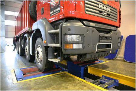 Ремонт грузовых автомобилей в автосервисе
