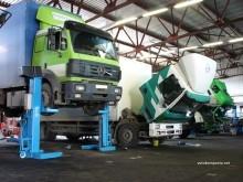 техническое обслуживание грузовых Мерседесов