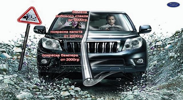Антигравийная пленка для автомобиля