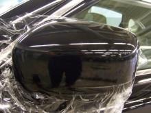 оклейка антигравийной плёнкой зеркал авто