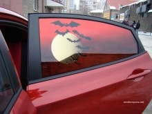 тонировка авто с рисунком