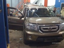 Кузовной ремонт Honda Pilot