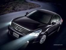 Полировка фар Nissan Teana