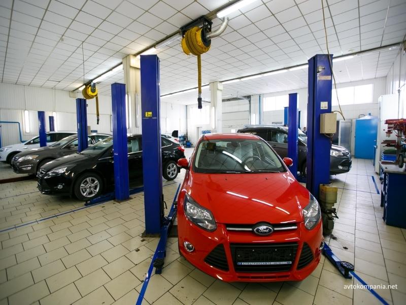 цена ремонта Форд в Киеве