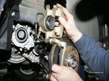 Ремонт тормозов Honda Odyssey