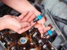 чистка бензиновых и газовых форсунок