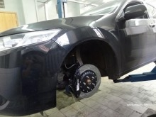 ремонт подвески хонда