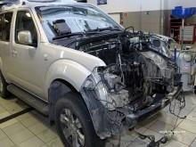 Кузовной ремонт Nissan Navara