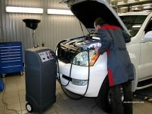 Ремонт кондиционера Nissan Tiida