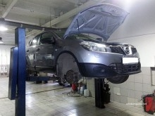 Ремонт подвески Nissan Tiida