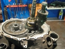 ремонт КПП Nissan Almera