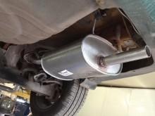 ремонт глушителя Nissan Almera