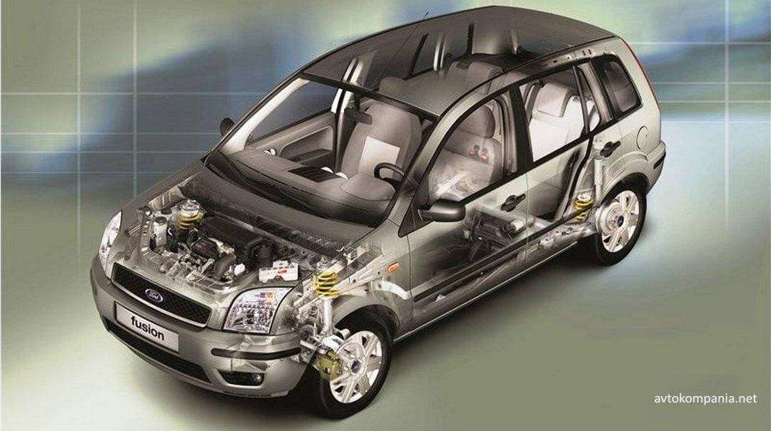Стоимость ремонта Ford Fusion